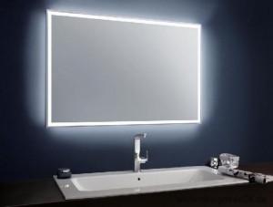 Эффектное зеркало с технологией подсветки