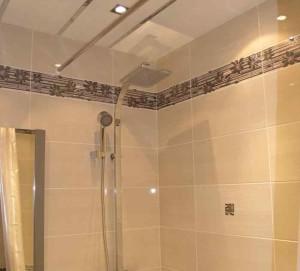 Фото штанги для душа в ванной комнате