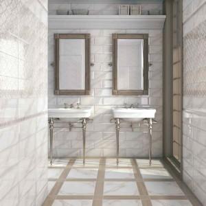 Фото английской плитки в ванной комнате