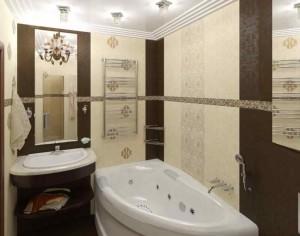 Белорусская плитка в ванной
