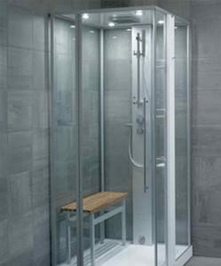 Фото душевых перегородок в ванной комнате