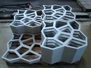 Фото пластиковых форм для плитки, которые сделали своими руками