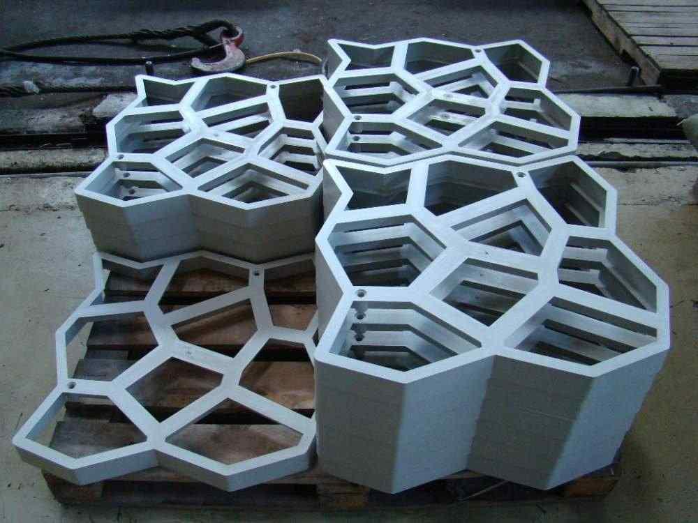 Форма для плитки своими руками