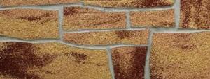 Фото гибкой плитки под кирпич на стену