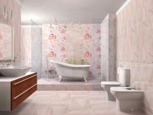 Фото испанской плитки в ванной комнате