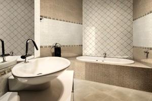 Фото итальянской плитки в ванной