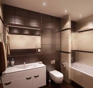 Фото дизайна кафеля в ванной комнате