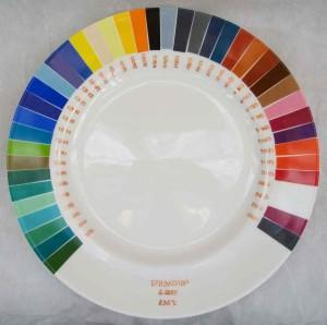Палитра краски для плитки