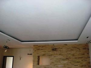 Фото готового подвесного потолка из гипсокартона