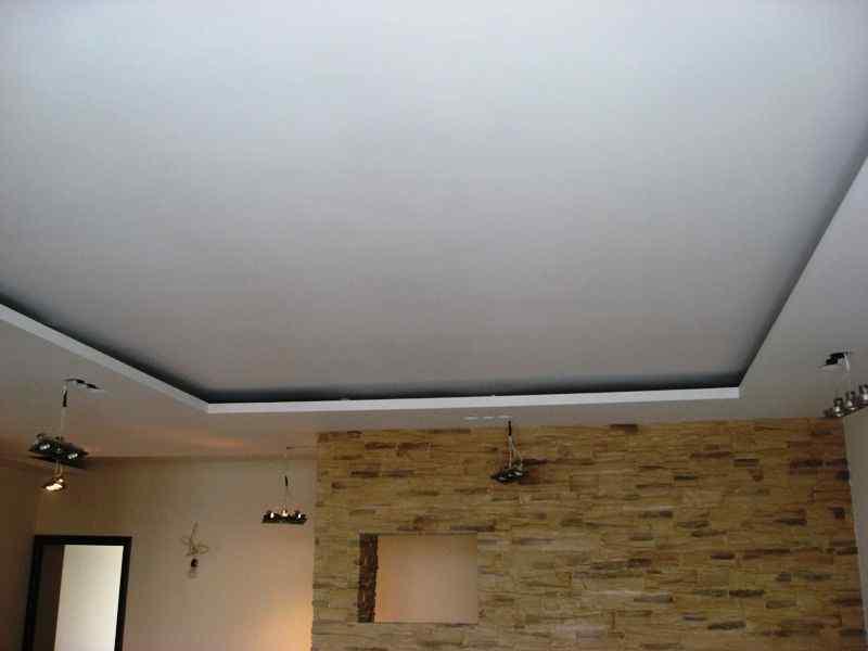 показать готовые потолки из гипсокартона