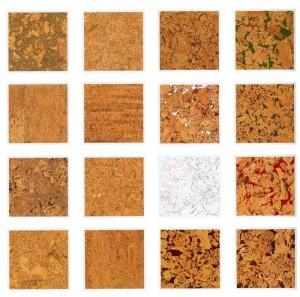 Разновидности пробковой плитки