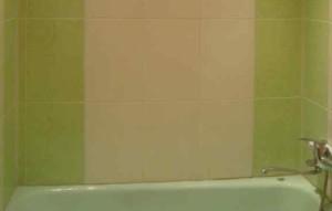 Фото российского кафеля в ванной
