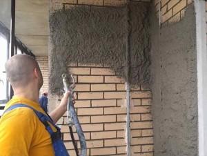 Штукатурка стен в доме