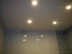 Точечные светильники для ванной комнаты