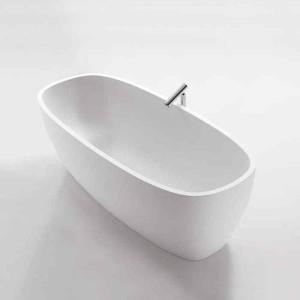 Фото ванны из искусственного камня