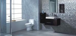 Фото глазурованной плитки в дизайне ванной комнаты