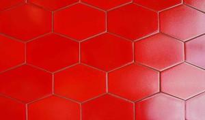 Текстура красной плитки