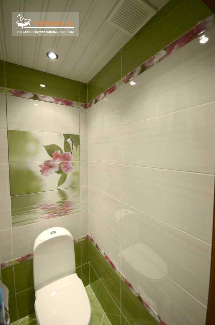 туалет в плитке фото