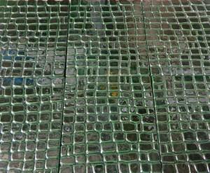 Текстура плитки под кожу крокодила