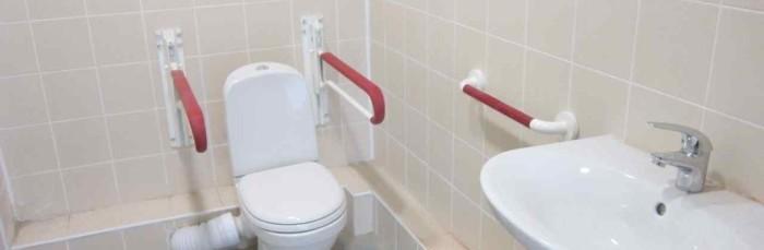 Поручни для инвалидов в туалет