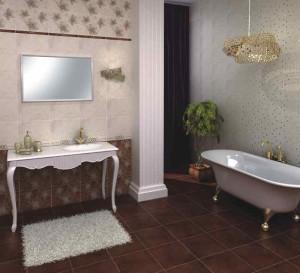 Фото волгоградской плитки в дизайне ванной комнаты