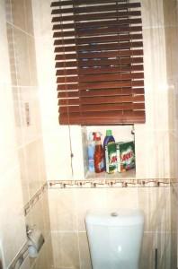 Фото жалюзи в туалете