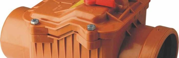 Обратный клапан канализации
