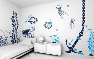 Трафареты на стены